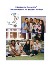 Student Journal - Teacher Manual